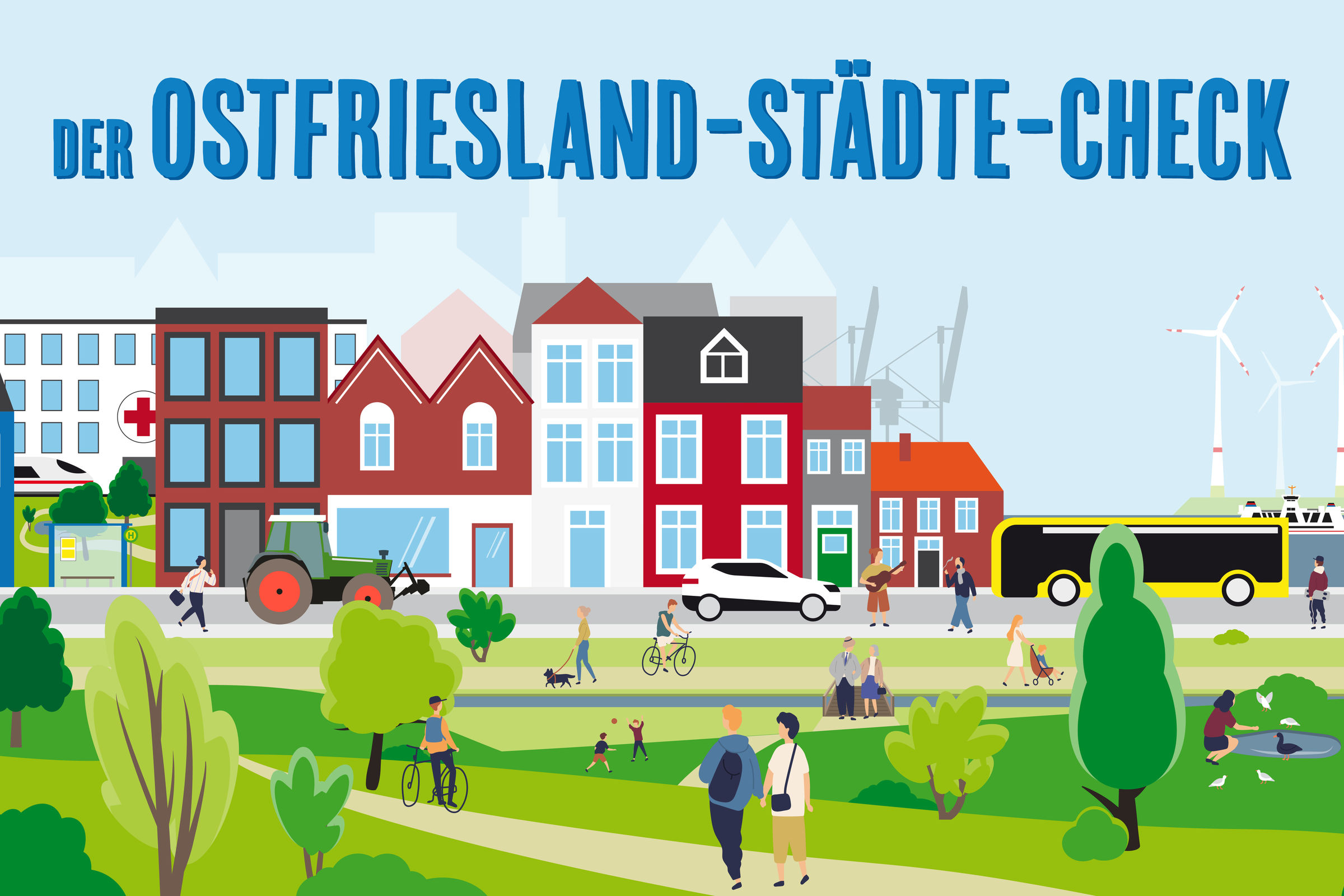 Der Ostfriesland-Städte-Check